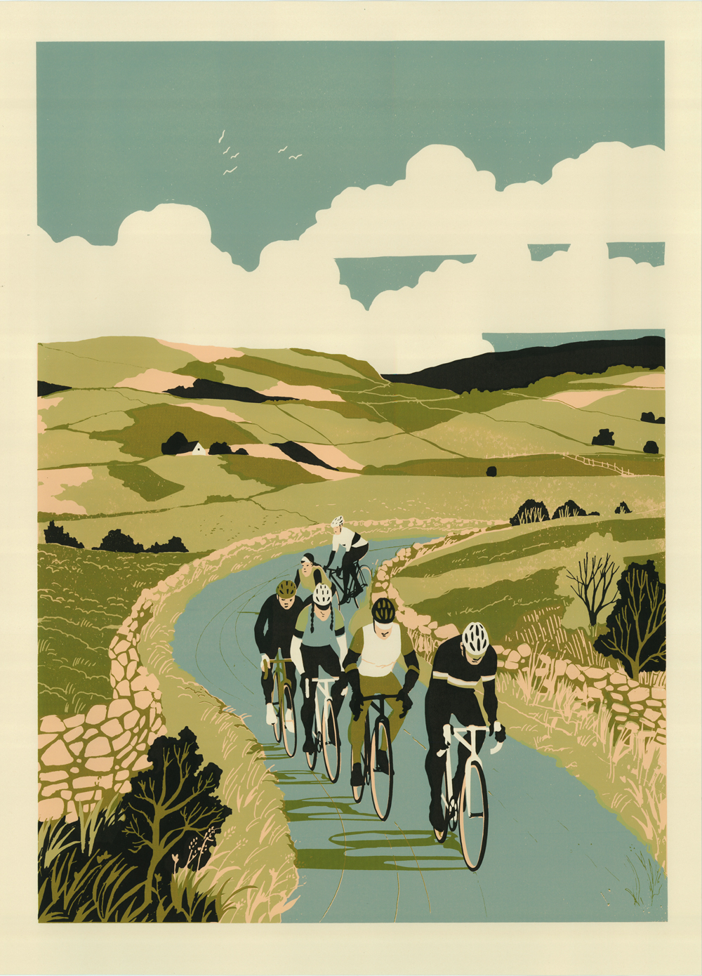 The Cycling Art of Eliza Southwood at Hornseys – The Gallery